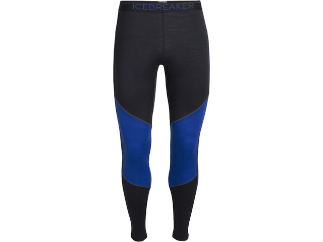 Icebreaker 200 Oasis Deluxe Leggings Herrer, midnight navy/surf